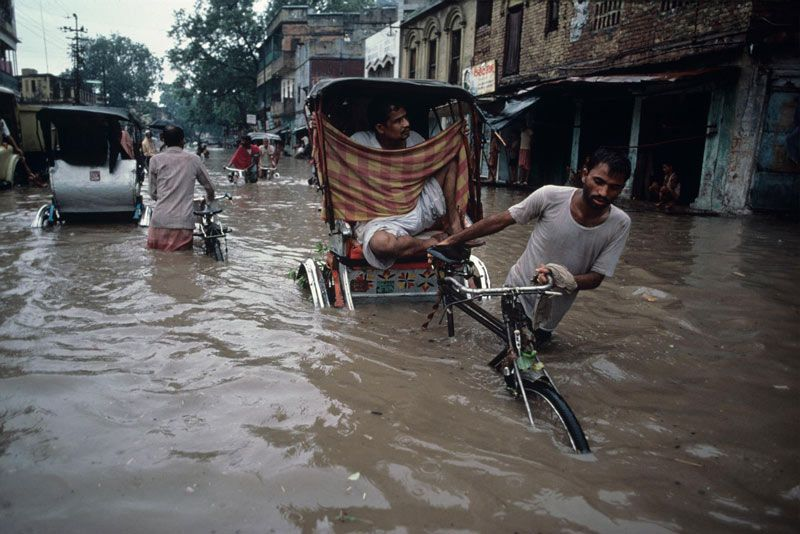 Steve McCurry's View Of The Indian Monsoons