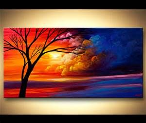 Colorful Abstract Tree Painting - Bing Images