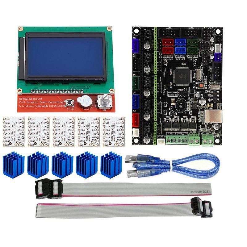 BIFI-3D Printer Accessories MKS GEN L+12864 LCD Display +