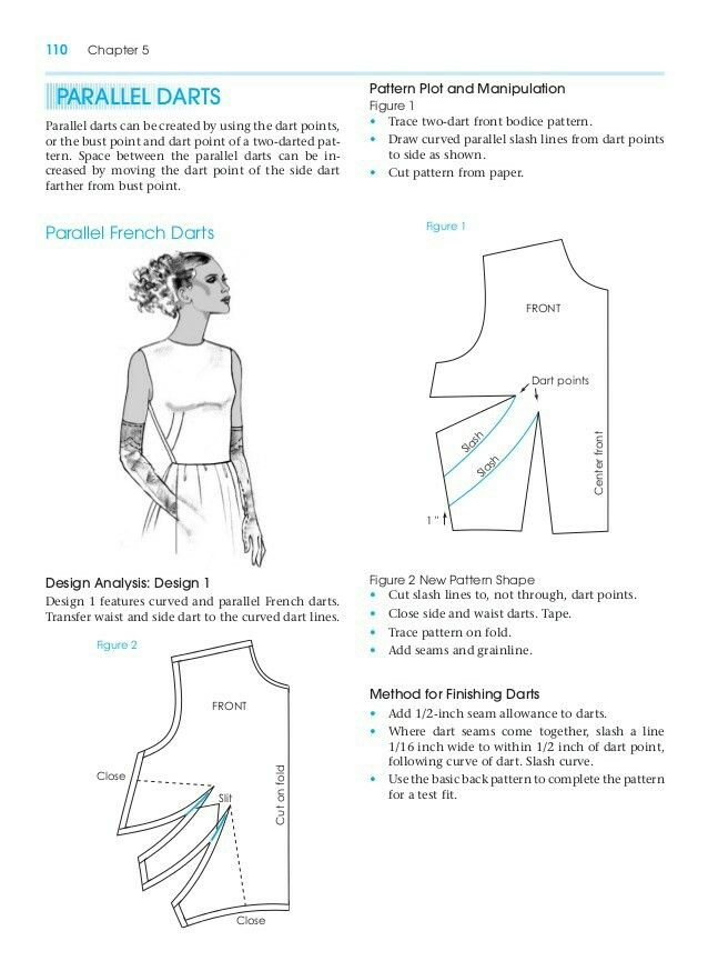 Parallel Dart Pattern Making For Fashion Design Learn To Make Your Own Clothes At Https Payhip Com Pat Sewing Techniques Pattern Making Books Patternmaking