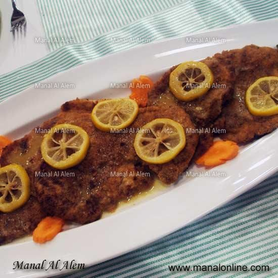 بيكاتا الدجاج بصلصة الليمون Lemon Sauce Recipes Chicken Piccata