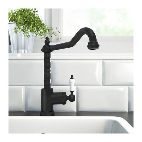 GLITTRAN Kitchen faucet, black House Pinterest Kitchen faucets