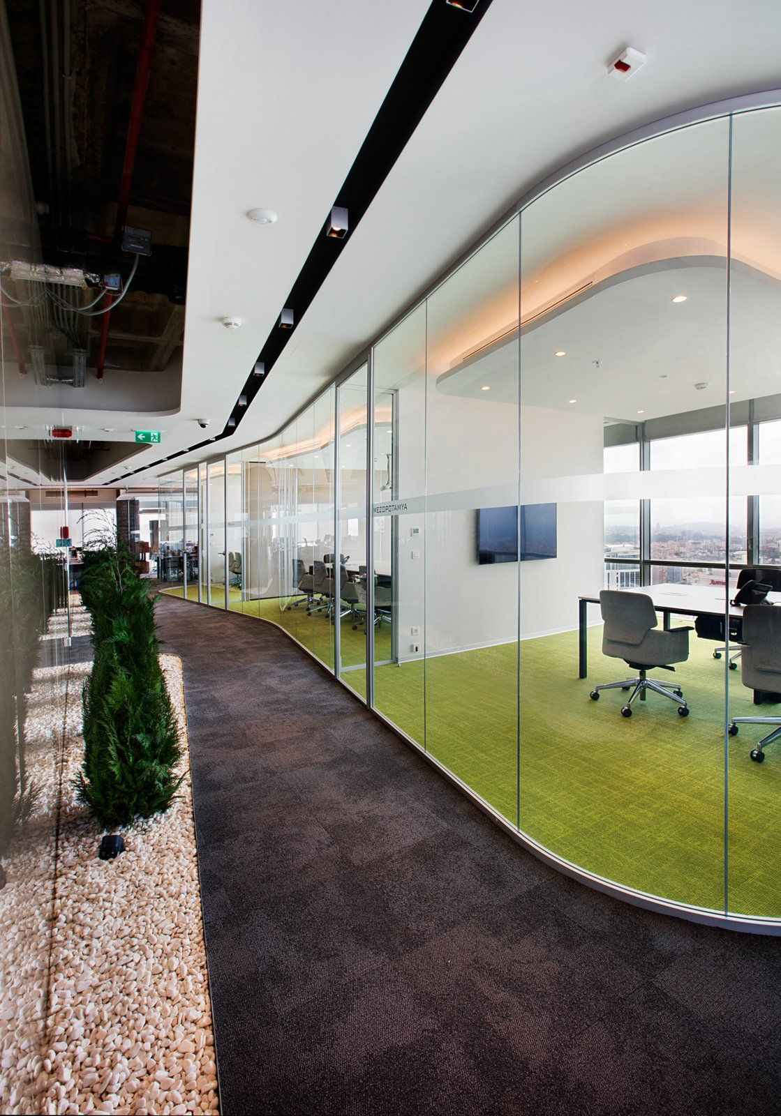 Office tour cigna finance offices istanbul for Burogestaltung design