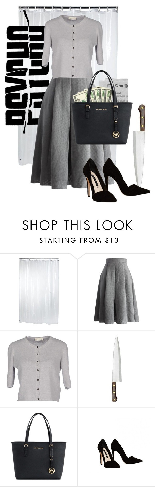"""Marion Crane from Psycho"" by laniocracy on Polyvore featuring Home Classics, Chicwish, Alysi, Michael Kors, Alice + Olivia and hitchcock"