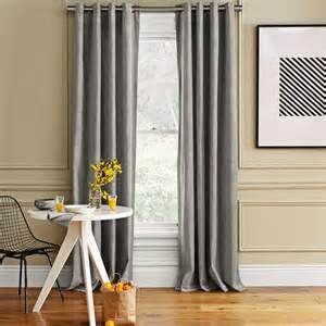 Gray Curtains With Tan Walls Traditional Curtains Small Window