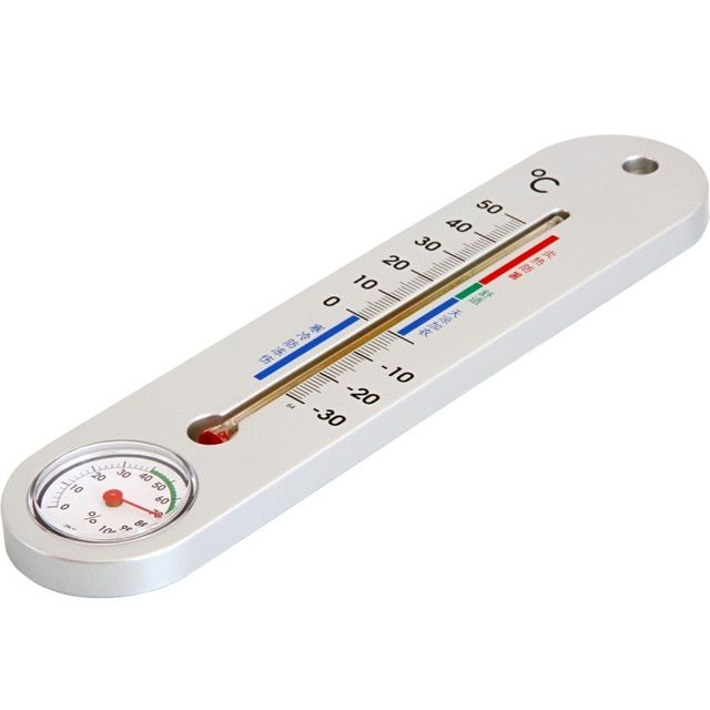 Indoor Room Mercury Thermometer Wet Hygrometer High Precision Wall Mounted Baby Home For Drugstore Humidity Table Teste Hygrometer Room Thermometer Thermometer