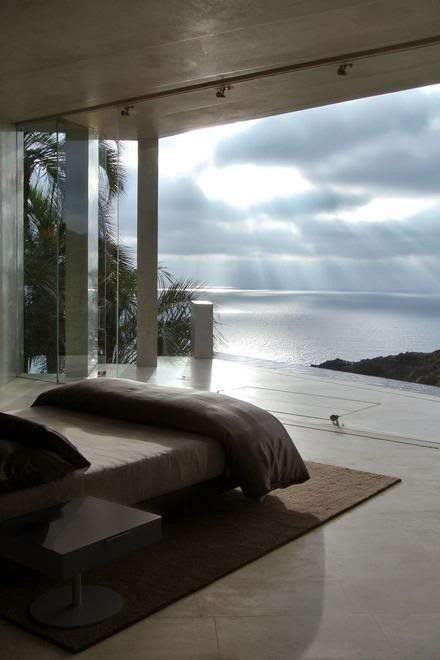 How could you ever have a bad day when you wake up to this view ...