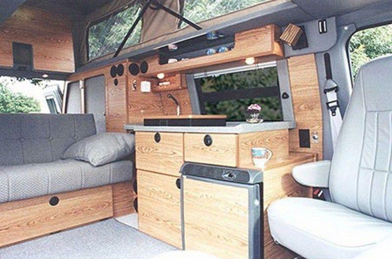 Ford camper van interior tiny house 44 Campervan innen