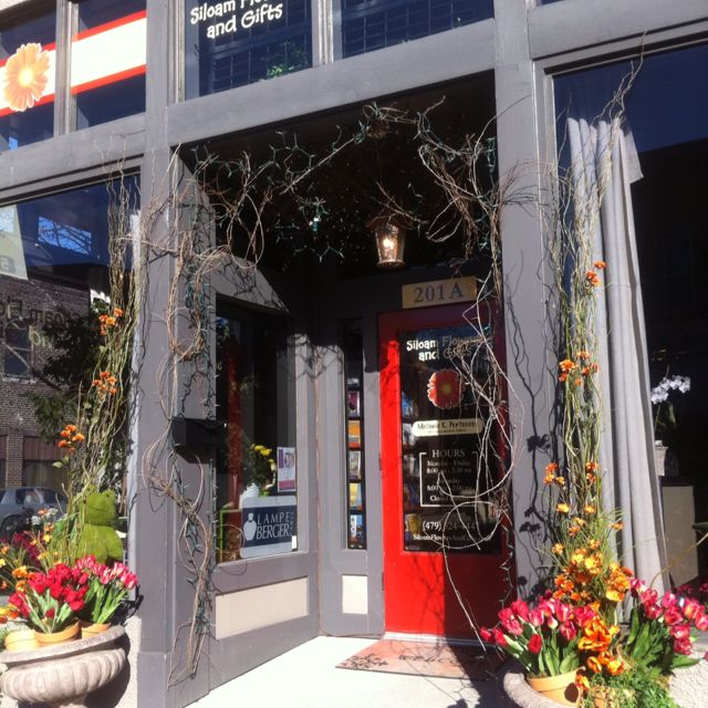 Our flower shop store front we love it here come see us downtown our flower shop store front we love it here come see us downtown siloam springs ar hours are 8am 530pm mon fri and 8am 2pm on saturday mightylinksfo