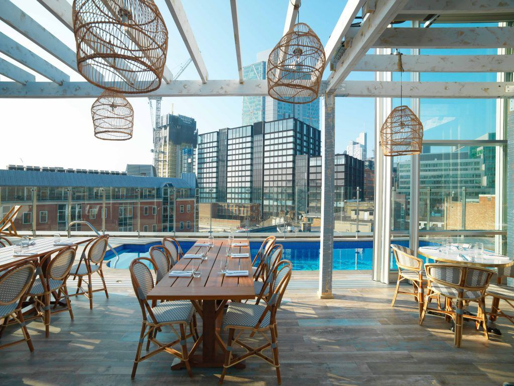 East London S Coolest Must See Hotel Hotel Pool London Hotels Cool Pools