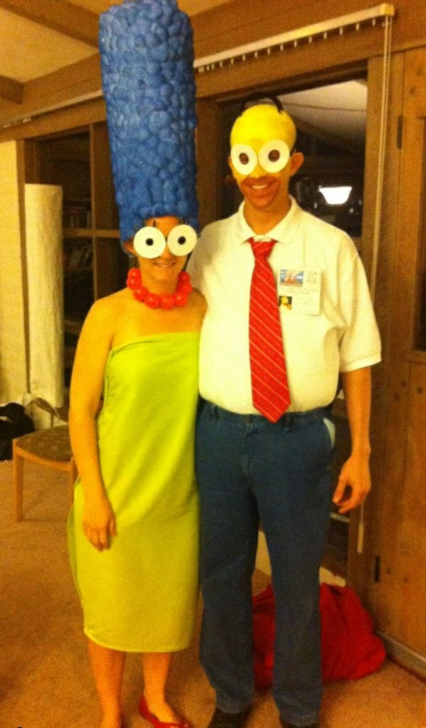 marge homer simpson costumes carnival halloween i karneval fasching verkleidung kost m. Black Bedroom Furniture Sets. Home Design Ideas