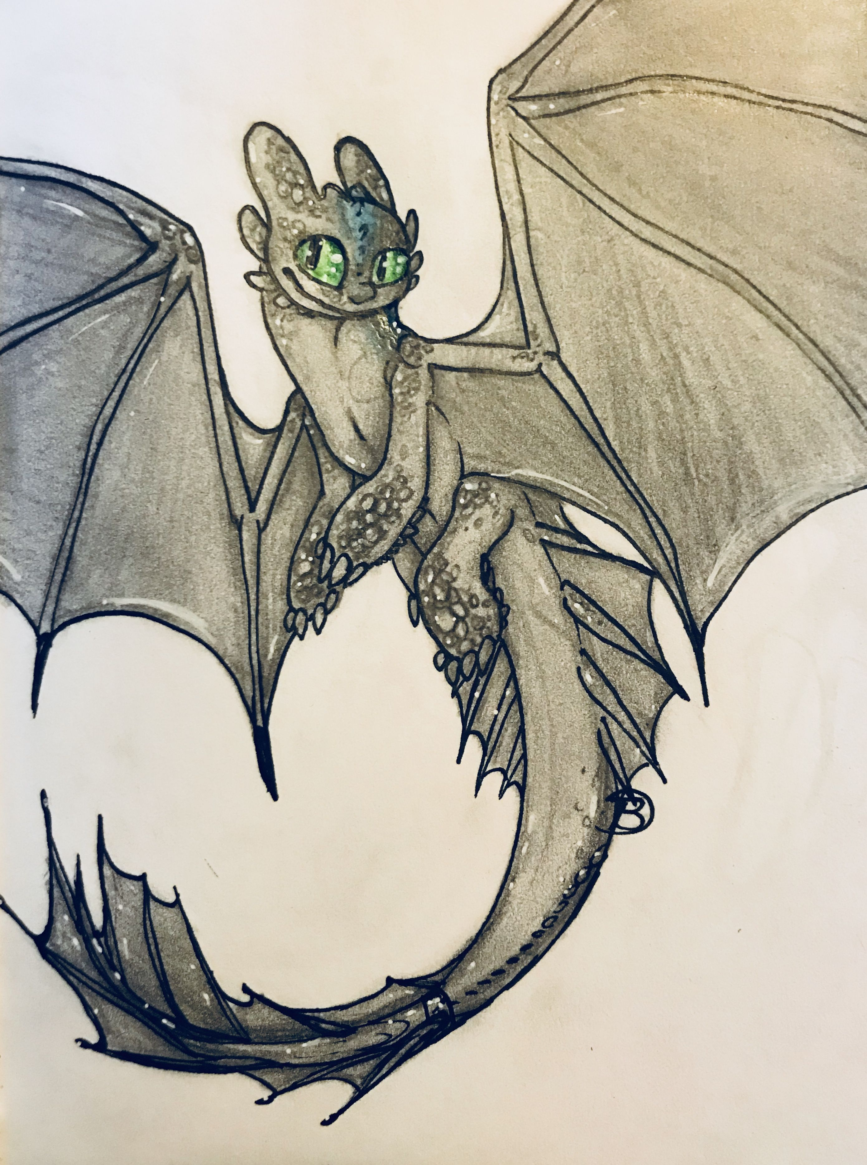 Someone requested that I did a full body toothless, i