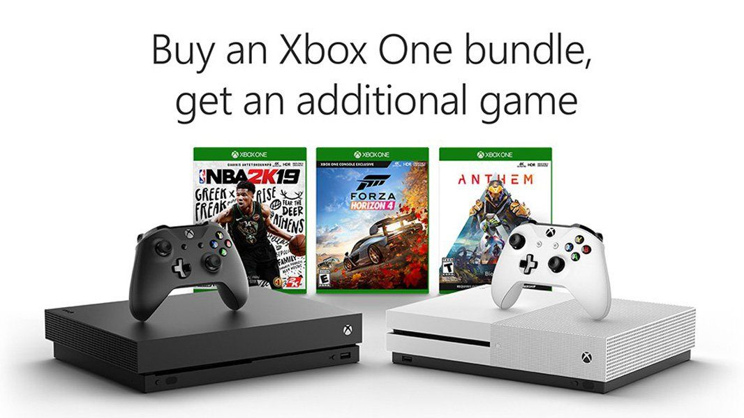Microsoft Is Granting Xbox One Customers A Free Additional Game When Purchasing An Xbox One Console Bundle Announced Through Xbo Xbox One Bundle Xbox One Xbox