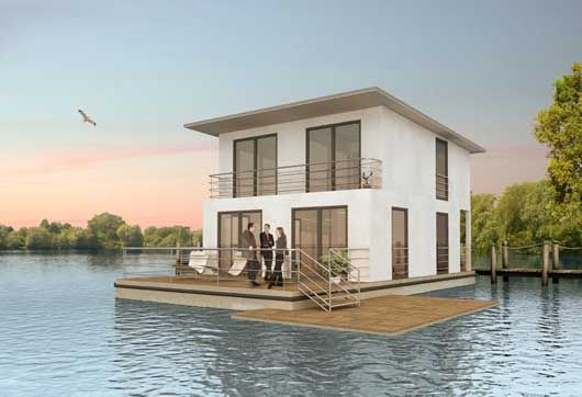 deutsche composite gmbh floating systems low cost On low cost house construction ideas