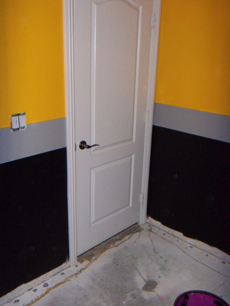 Pittsburg Steelers themed bedroom.  Bedroom themes, Steelers