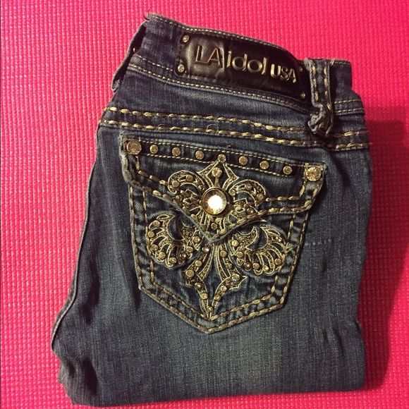 LA IDOL skinny jeans They are in perfect condition! Very comfy! La idol Jeans Skinny