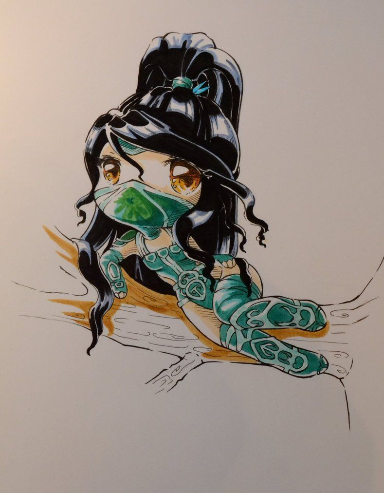 Chibi Akali by Lighane on DeviantArt