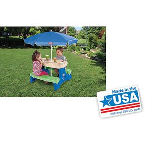 Little tikes easy store jr play table with umbrella play table little tikes easy store jr play table with umbrella watchthetrailerfo
