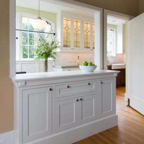 Photo of Remodel by Ostmo Construction.Design by Janie Boyl Studio.Photos by Dale Lang of…