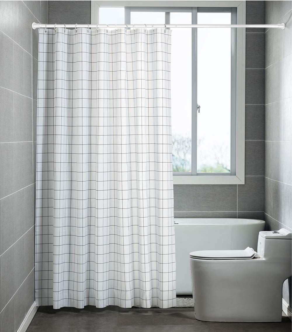 Allzone Heavy Duty Tension Shower Curtain Rod 2841 Inches No
