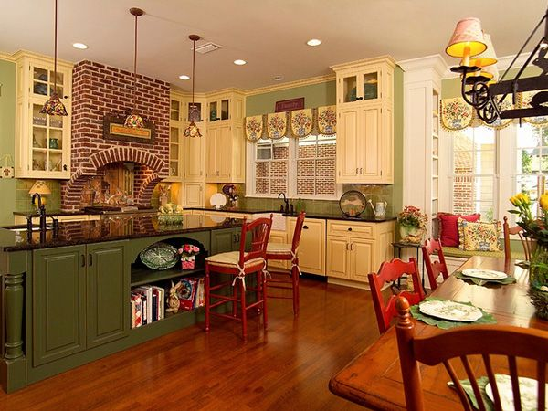images about kitchen on   opaline, rustic color,Country Kitchen Paint Color Ideas,Kitchen cabinets