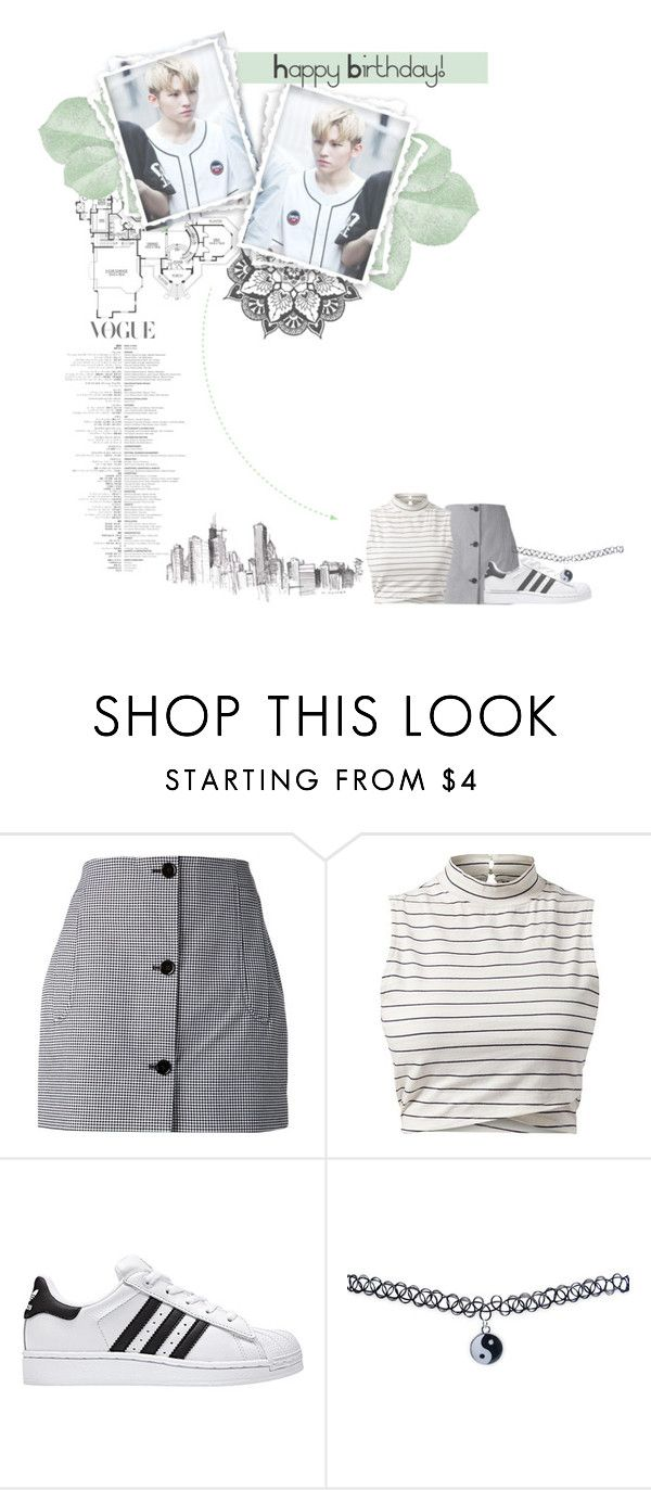 """""""~ Happy Birthday Woozi ! ~"""" by julzisbaek ❤ liked on Polyvore featuring Carven and Wet Seal"""
