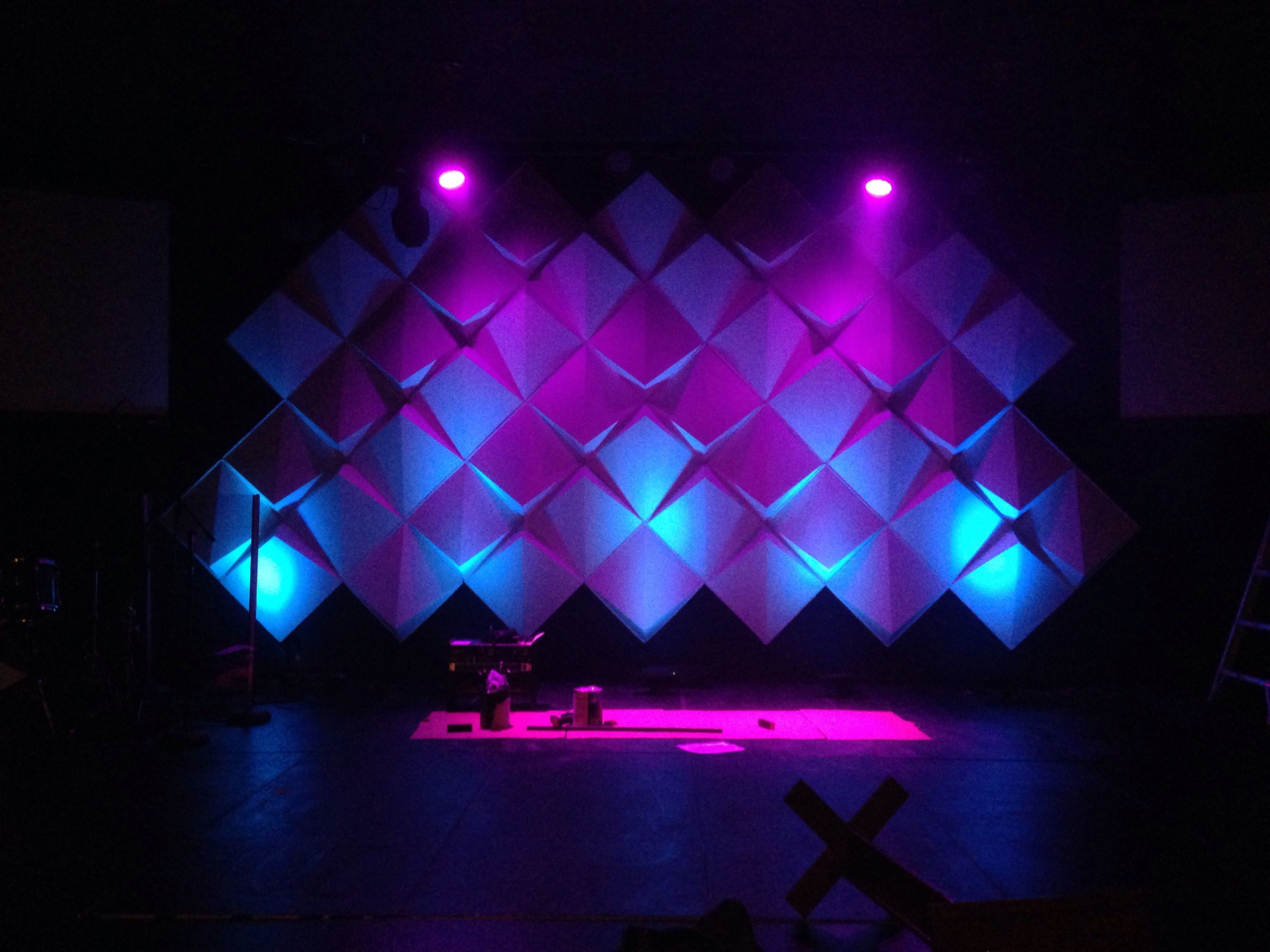 How to create big stages with small budgets materials supplies