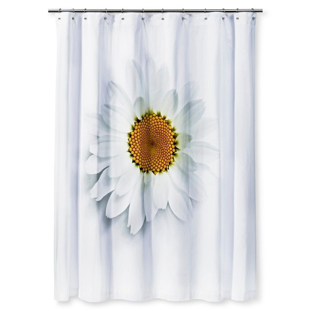 Gerbera Daisy Shower Curtain
