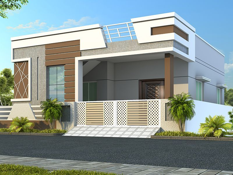Aashray   Skandhanshi   Bungalow house design, Single ...