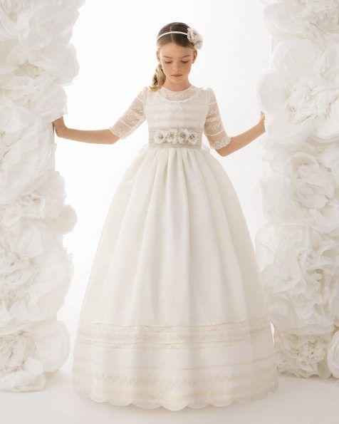 Vestidos de primera comunión clásicos, elegantes y únicos para niñas.
