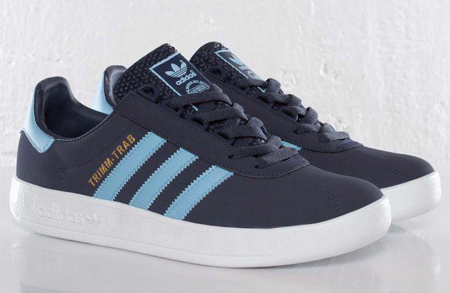 Haciendo Identificar diferente a  adidas Originals Trimm-Trab | Navy & Argentina Blue - EU Kicks: Sneaker  Magazine | Adidas casual shoes, Adidas classic shoes, Sneakers