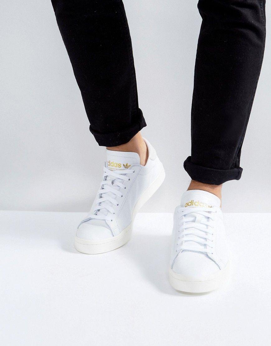 26ea4b2ba65e adidas Originals Court Vantage Sneakers In White BZ0426 - White