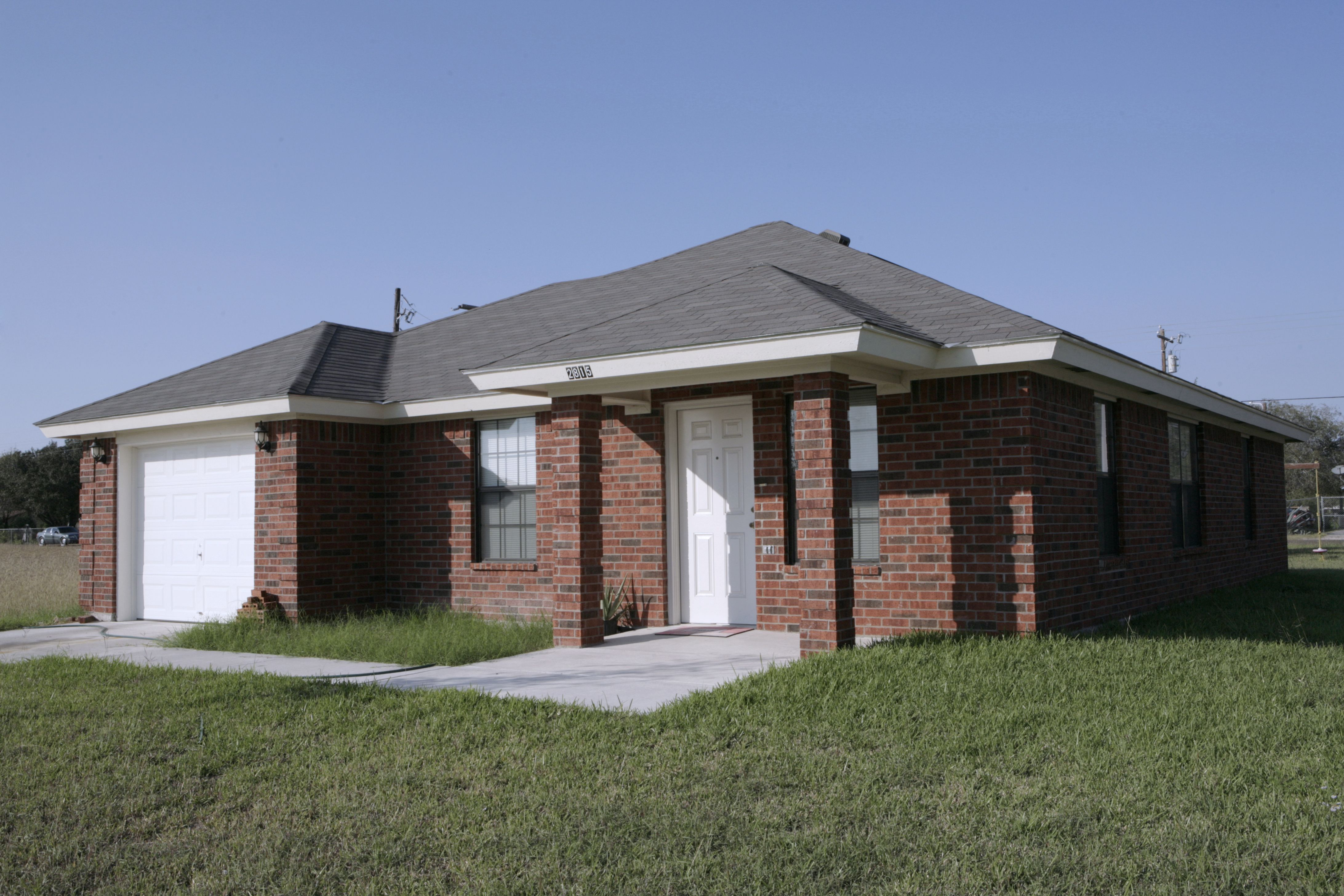 Example Of A Home Built At Affordable Homes Of South Texas, Inc.