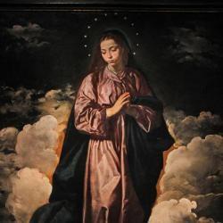 La inmaculada concepción, Velázquez. Laura Cristina Revilla Sánchez
