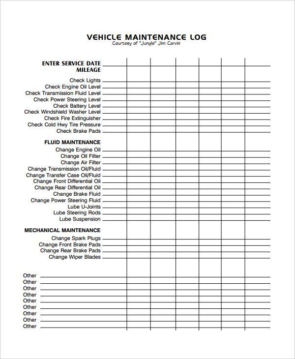 Vehicle maintenance log excel template. Image Result For Excel Vehicle Maintenance Log Vehicle Maintenance Log Maintenance Schedule Template