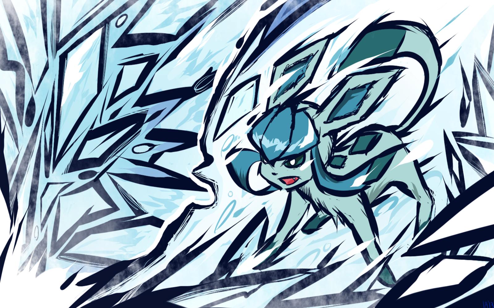 Glaceon Ice Shard By Ishmam On Deviantart Pokemon Pokemon Eeveelutions Pokemon Pictures