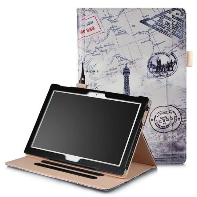 quality design 221a4 f4236 Pu Leather Cover Case For Lenovo Moto Tab Tb-X704A 10.1