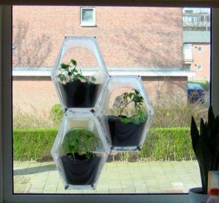window indoor garden pods Window garden container system | Garden | Pinterest