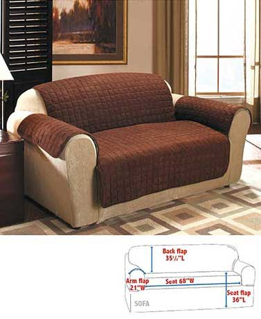 Strange Quilted Sueded Furniture Covers House Decor Loveseat Ocoug Best Dining Table And Chair Ideas Images Ocougorg