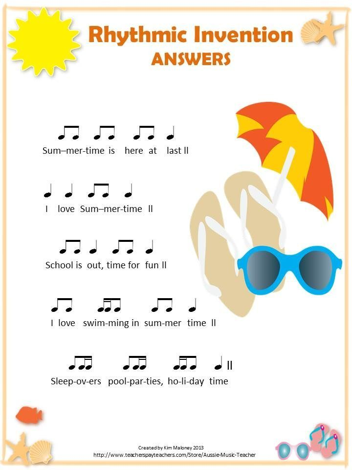 Rhythm Worksheets | 12 RHYTHMIC Invention worksheets!! ♫ CLICK through to read more or SAVE for later! ♫