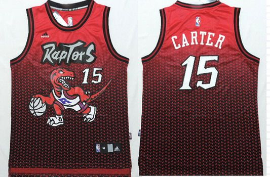 Jersey Carter Raptors 15 Nhl Resonate Vince Fashion Nfl Toronto Nba Jerseys Red black