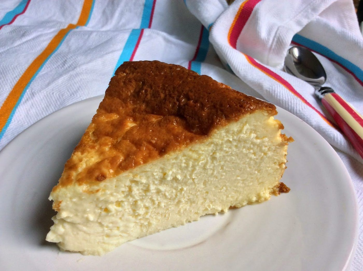 Anyone That Visits San Sebastian Gets Told To Try The Famous Baked Cheesecake Recipe A