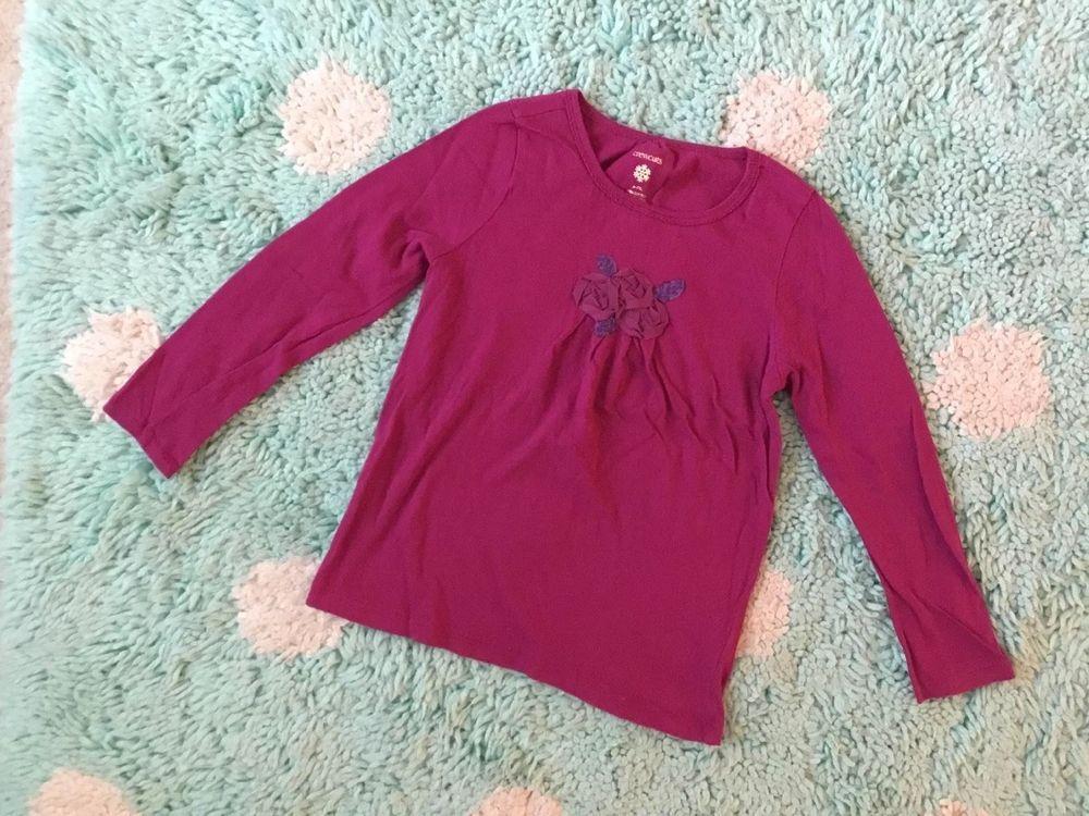 bb19ce56 Crewcuts J. Crew Kids Girl Fuchsia Long Sleeve Tee sz 6-7Top T Shirt Flower  #fashion #clothing #shoes #accessories #kidsclothingshoesaccs ...