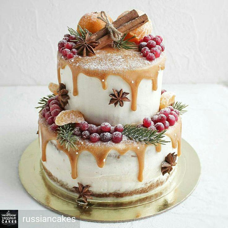 Photo of Christmas Cake Decorating Idea
