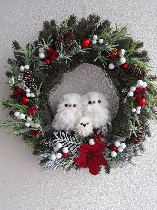 Photo of 20+ Cute Winter Wreath Decoration Ideas To Compliment Your Door