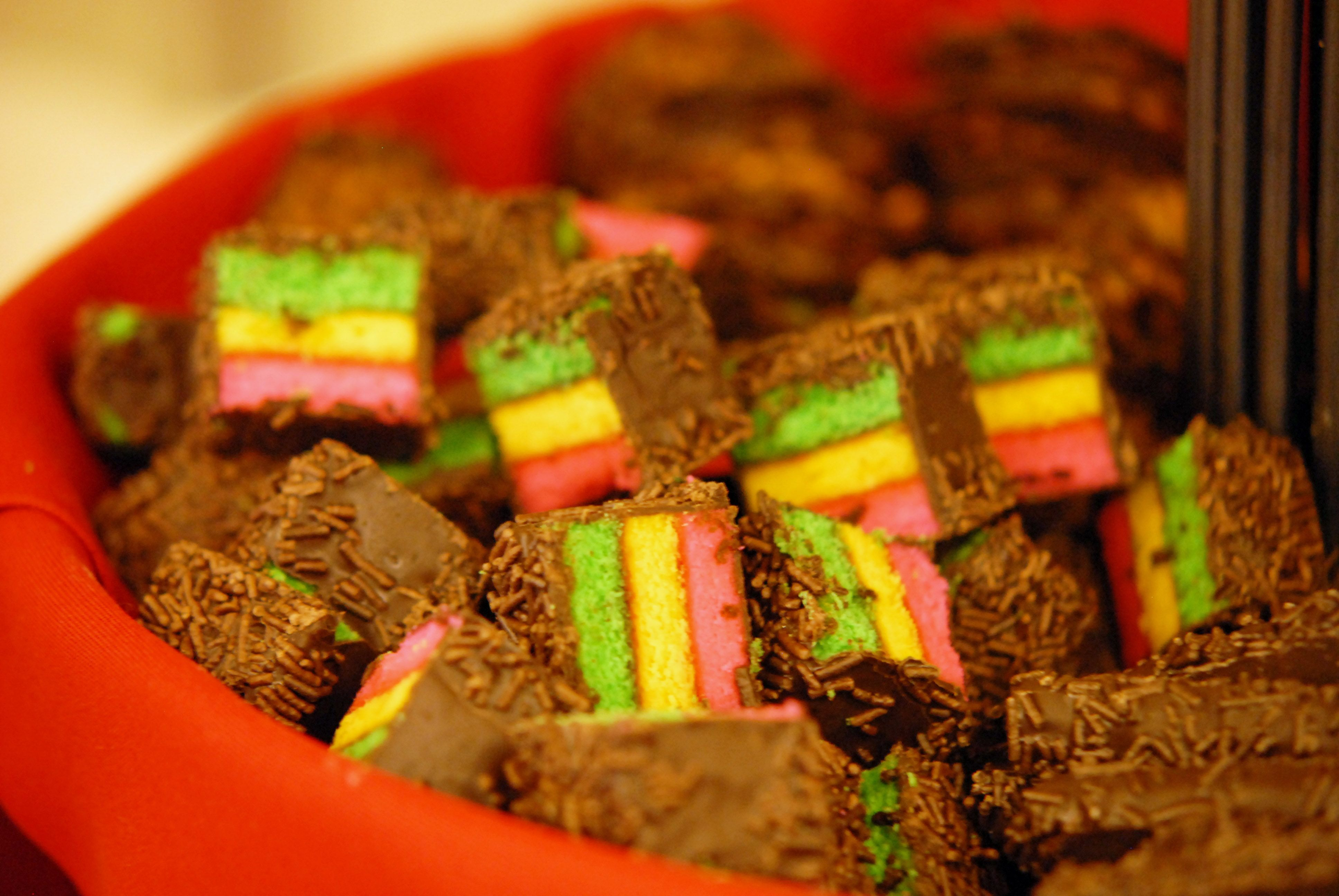 petit fours in bon appetits st olaf christmas festival buffet - St Olaf Christmas Festival