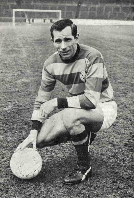 David Mcparland Of Partick Thistle In 1969 Partick Thistle Historical Figures Thistle
