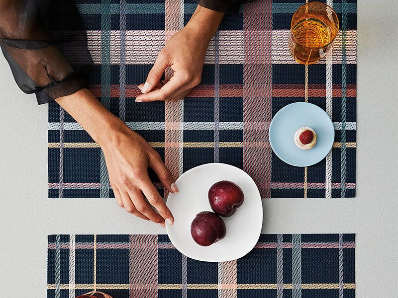 Chilewich Table Placemats Runners Tango Dusk Rectangle Modern Placemats Chilewich Placemats