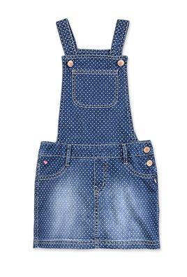 565d4cede Jardineira Jeans Infantil Menina Com Estampa