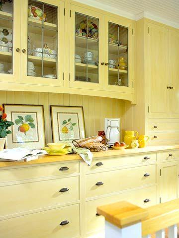 Butler S Pantry Ideas Butler Pantry Chic Kitchen Yellow Kitchen